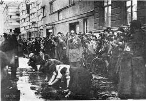 """""""Reibpartie"""", Wien 1938"""